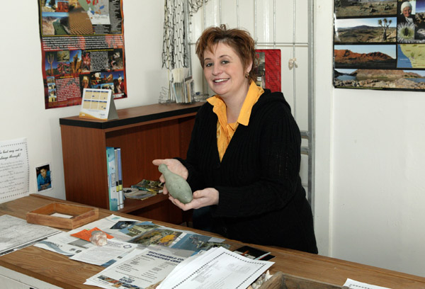 Alta the Tourism Information Officer.