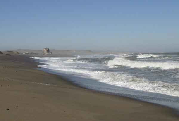 Alexander Bay beach