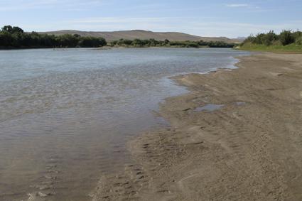 Orange River at Brandkaros