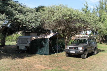 Brandkaros camp site