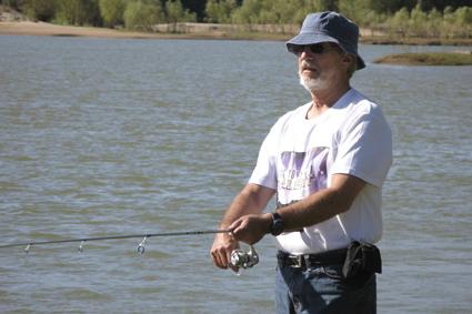 Fishing in the Orange River
