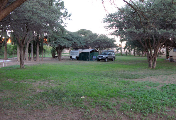 The area I was camped in.