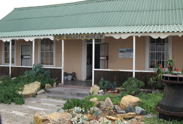 Port Nolloth Museum.