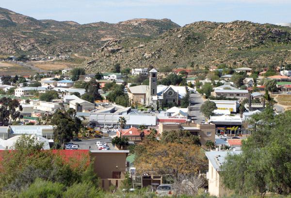 Springbok town centre.