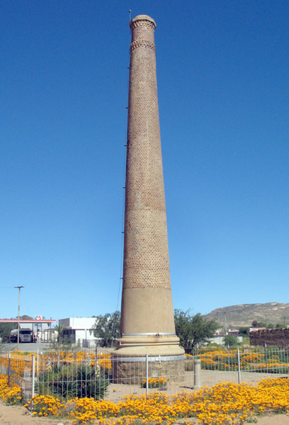 Smokestack built by the Cape Copper Company as a ventilation shaft in 1880