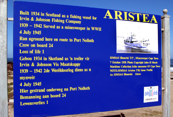 Info about the Aristea.