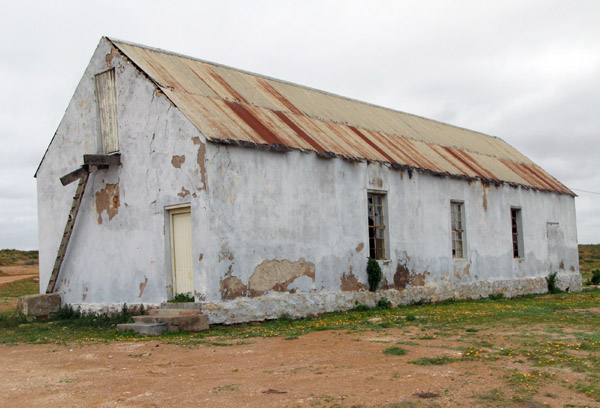 This old building used to serve as church, school and community hall.