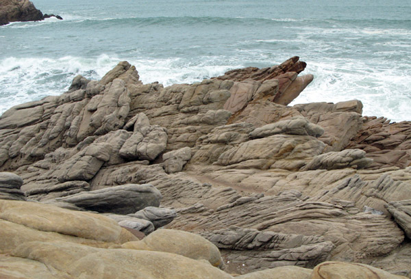 Some of the rock formations were fascinating.