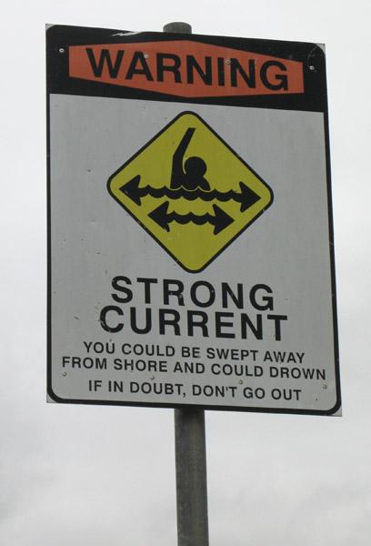 Not so safe bathing?