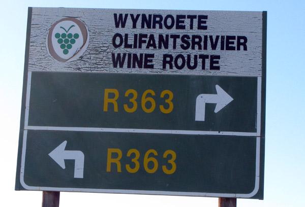 Wine Route.