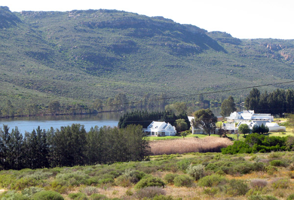 Developement just north of Clanwilliam.