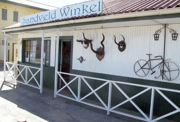 Sandveld Winkel.