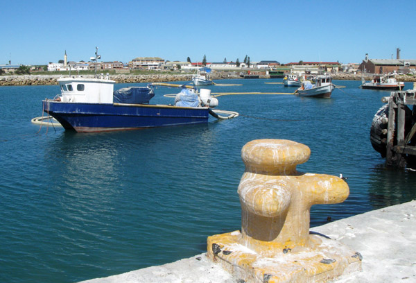 Lamberts Bay Harbour.