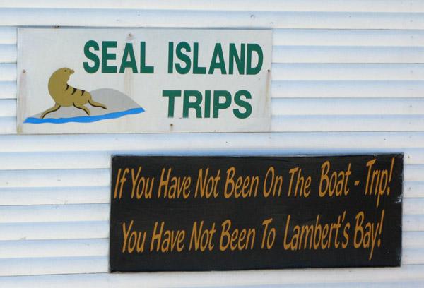 Seal Island boat trip.