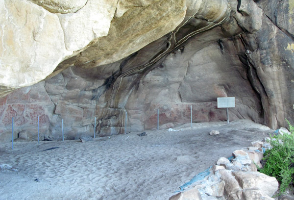 One of the caves acessable to the public.