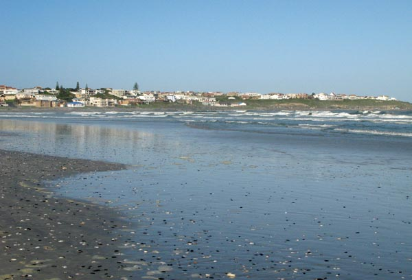 Yzerfontein main beach.