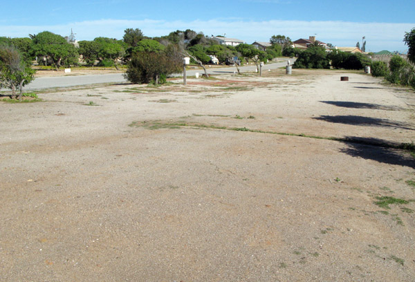 Lamberts Bay Caravan Park.
