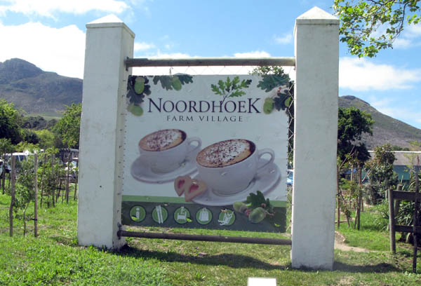 Noordhoek Farm Village.