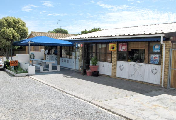 The only restaurant in town which is up for sale at R2.5 million.