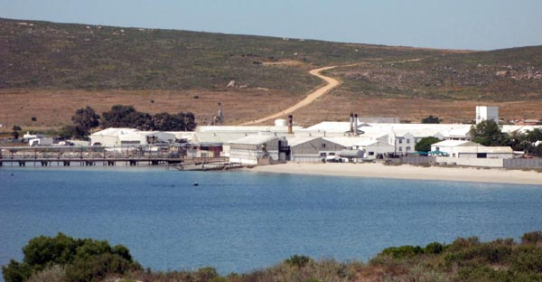 Stompneusbaai as seen from Shelly Point.