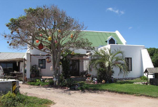 1st house built at Jacobsbaai.