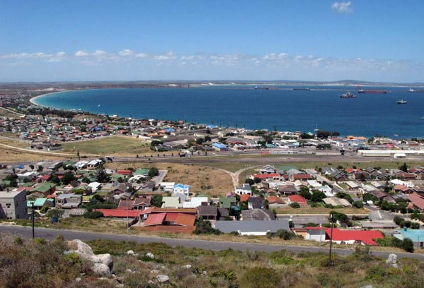View of Saldanha Bay.
