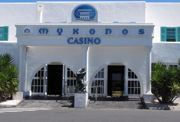 If you are tired of all the water sports and lazing in the sun you can always pop in at Mykonos and try your hand at a bit of gambling!