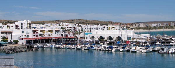Club Mykonos yachting harbour.