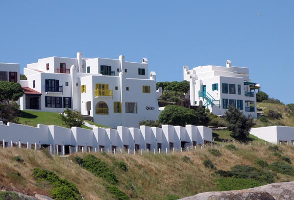 Some of the house in the new development at Mykonos.