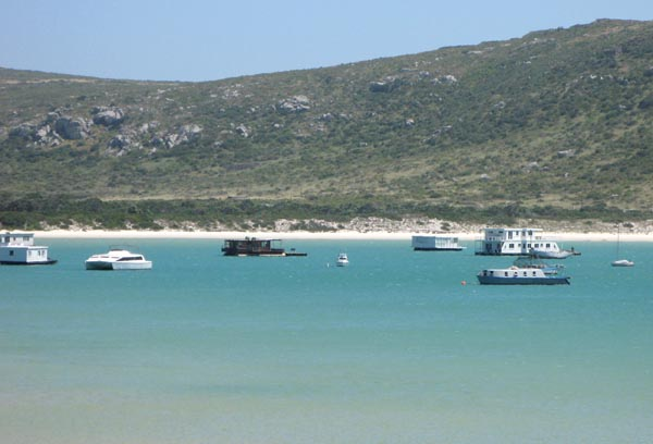 Houseboats at Kraalbaai