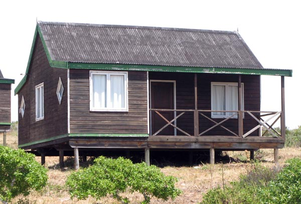 One of the chalets that are available.