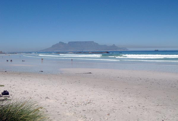 Big Bay with Table Mountain in the background.