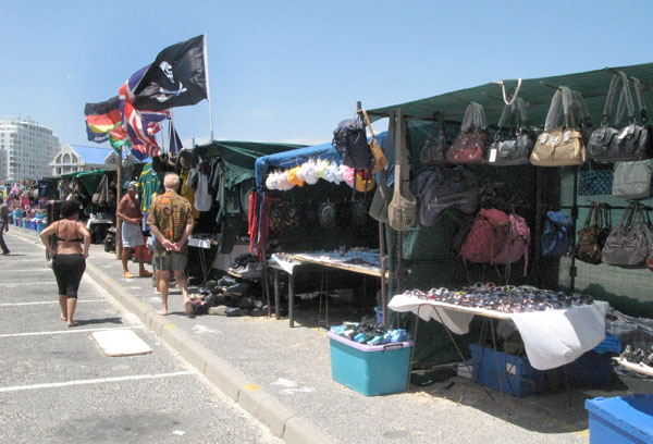 Next to the Pavilion there are trading stalls which are open 7 days a week.