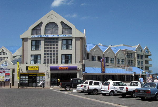 The Strand Pavillion.