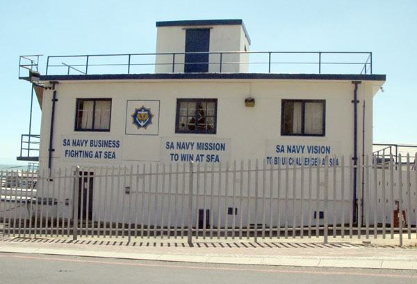 The SA Naval College is situated in the old harbour area.