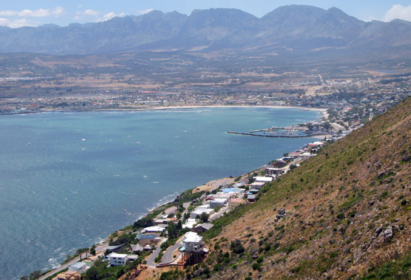 View of Gordon's Bay and surrounds from the Steenbras road.