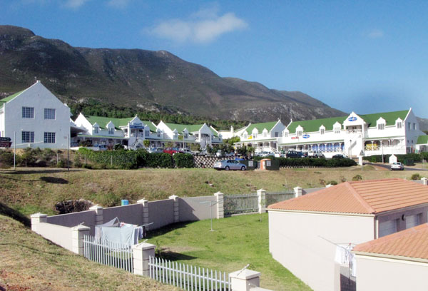 Even though Hermanus is just 10 minutes away they also have a modern shopping centre.