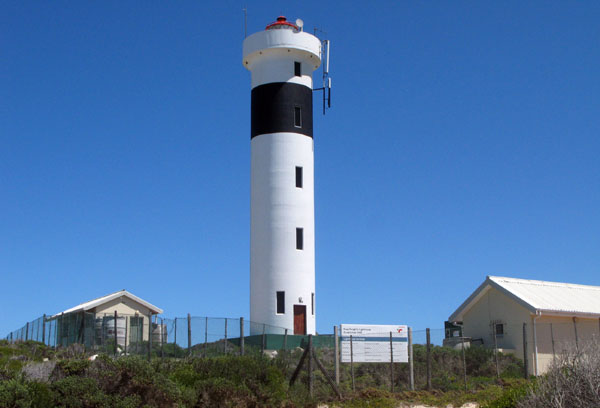 Hangklip Lighthouse which is now 50 years old.